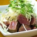 料理メニュー写真ハツ刺~炙って提供します!!~