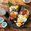 料理メニュー写真鮮魚4種盛り