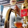 世界のビールやワインを豊富に取り揃えています。