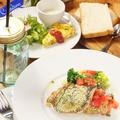 料理メニュー写真【LUNCH SET】メバルの香草パン粉焼き フレッシュトマトのケッカソース