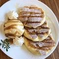 料理メニュー写真ふわふわのパンケーキ