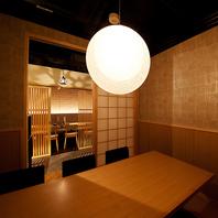 完全個室の堀炬燵席