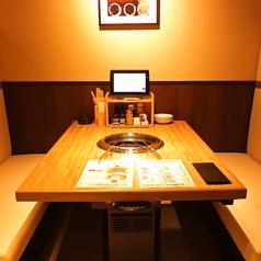 ゆっくり楽しめるテーブル席★