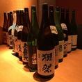 お魚料理だけでなく、串揚げや天ぷら、和牛ステーキと、日本酒、焼酎をはじめとしたお酒に合う絶品料理をバランスよく、ご用意しております。心ゆくままに、お酒の席をお楽しみください。