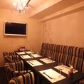 人気のシャンデリア個室です。カラオケを完備しております。西麻布・六本木・麻布十番などで個室、和食・創作料理なら是非当店へ♪