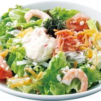 おすすめは国産野菜の「和民サラダ」♪