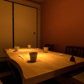4名様からご利用できる個室もご用意しております。落ち着いた空間でごゆっくりお寛ぎください。(田原町 個室 居酒屋 鮮魚 地鶏  刺身 接待 宴会 女子会 接待 歓送迎会)