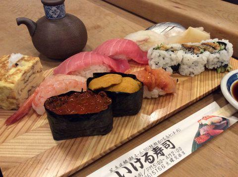 【要電話予約】いける鮨の出前寿司!700円〜