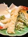 料理メニュー写真野菜天ぷら盛り合わせ