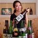 【全国各地の厳選日本酒20種以上】グラスからあります