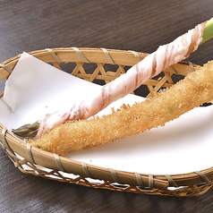 串カツ 豚巻きアスパラ