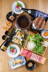 七勺日本酒 醸し肴 SEVENのコース写真