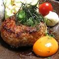 料理メニュー写真艶吉のチーズつくねバーグ