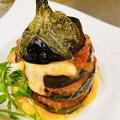 料理メニュー写真米茄子とクリームチーズのオーブン焼き