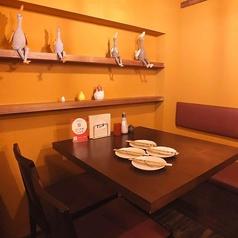 【3名様~16名様まで!】さまざまシーンでご移用いただけるテーブル席です。テーブル結合で最大16名様までご利用いただけます。