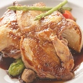 料理メニュー写真フランス産ウズラのソテー スカローニョソース