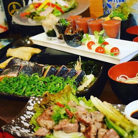 本場藁焼きのコースが2500円~◇飲み放題もリーズナブルにご用意しております☆