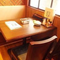 梅田駅徒歩3分!女子会等にも最適のテーブル席あり♪