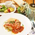料理メニュー写真【LUNCH SET】若鶏もも肉とチーズの重ね焼き ~ピッツァイオーラ風~