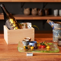 こだわりの一品料理◆全国各地の日本酒と共に