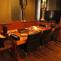 最大6名テーブル!プライベート飲みにも使え、少人数宴会にも使えます。お気軽にお問合せ下さい。