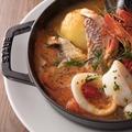 料理メニュー写真新鮮な魚介のブイヤベース
