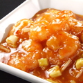 料理メニュー写真海老とチキンのアメリカンソース