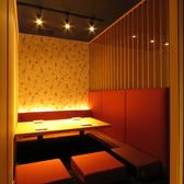 ◆2~4名様向き掘りごたつ半個室◆仕事帰りに落ち着ける空間で…当店自慢のお料理・お酒をお楽しみください。