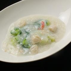 料理メニュー写真北海道産帆立と青梗菜のふんわり蟹あんかけ