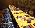 お座敷個室【藍】 最大20名様ご利用いただけます!大人数での食事会や宴会におすすめです。