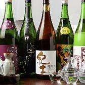【日本酒】海鮮料理に合う日本酒を、厳選し取り揃えております。他にも焼酎・ハイボール・ビール・ワイン・サワー・カクテルと幅広いラインナップをご用意しております。飲み放題もございますので、お気軽にお問合せ下さいませ。