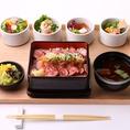 モダンな創作和食ランチは1180円~♪