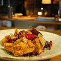 料理メニュー写真鶏の唐揚げ 唐辛子風味