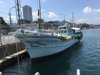 20トン漁船で関門から鮮魚をお届け致します!