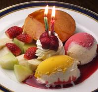 プチ誕生日を鎌倉で☆当店裏メニューの誕生日プレート☆