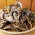 旨味がありながらも癖がなく食べやすい播磨灘産の牡蠣食べ放題◎