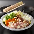 料理メニュー写真塩鶏鍋