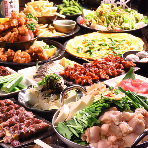 【2.5H飲み放題付き】各種ご宴会にオススメ!サラダ、鍋や〆麺含◆全11品◆3500円(税込)
