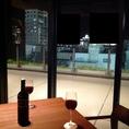 デートには姫路城が見えるテーブル席を♪