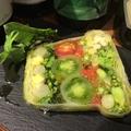 料理メニュー写真季節のお野菜のテリーヌ