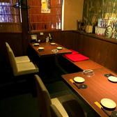 人気の8名様個室。ご予約がおすすめです。