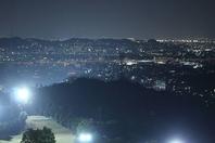 素敵な夜景を見ながら