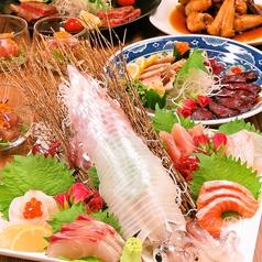 魚菜や 朝次郎 アミュプラザ長崎店のコース写真