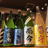 日本酒が常時40種類以上!