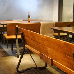 テーブルは人数に応じて柔軟に対応致します!お気軽にお問合せください♪