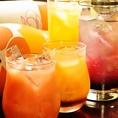 単品飲み放題やってます♪平日は1500円、週末は2000円でご提供です!!