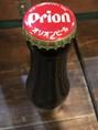 沖縄料理に定番のオリオンビアー★すっきりと飲みやすく、ぐいぐいとすすむ一杯!!