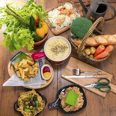 新鮮野菜の農家食堂 garden 新宿のおすすめ料理1