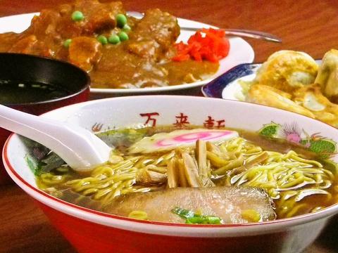 昭和25年より営業の老舗。昔ながらの味はホッと安心できる。店主の思いが味に出る。