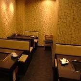 11名半個室。4名席×2席、3名席×1席でご用意。落ち着いた空間を提供いたしております。